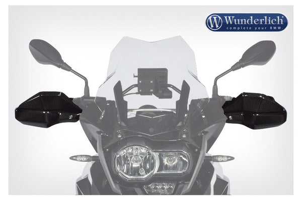 BMW R1200GS Protection - Hand Wind Deflector.