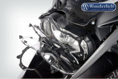 BMW R1200GS Protection - Headlight Guard Foldable (Lexan Clear)