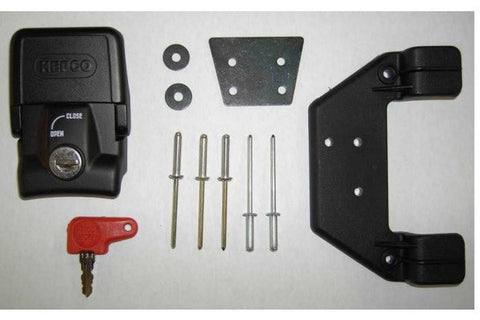 Holding lock for top case black By Hepco Becker