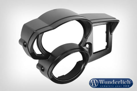 Instrument Surround with Visor - Black