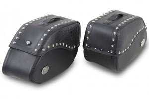 Saddlebags 30L Ivory Black.