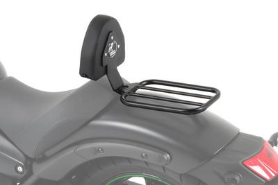 Kawasaki Vulcan S Ergonomics - Backrest (with Solo Rack)