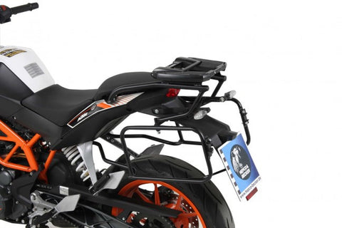 KTM 390 Duke Topcase carrier - Movable Hinge (Easy Rack)