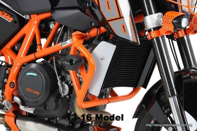 KTM 390 Duke Protection - Engine Guard - Orange