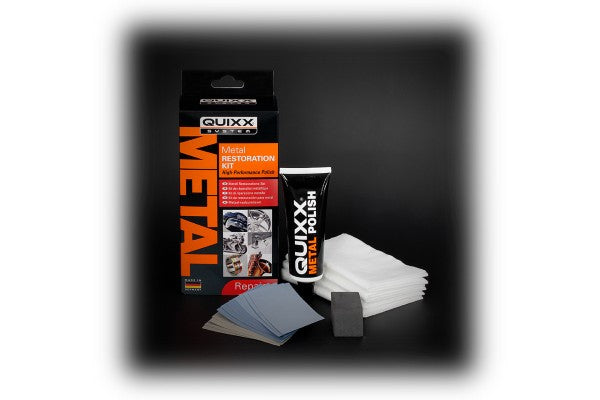QUIXX Metal Restoration Kit.