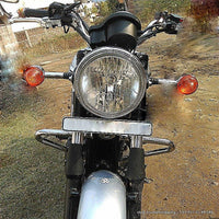 Triumph Bonneville Styling - Number Plate Relocation