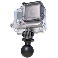 "RAM Camera - 1"" Ball with Custom GoPro® Hero Adapter."