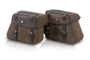 Saddlebags 22/24L Rugged Brown