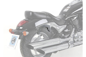 Suzuki Intruder M800 Sidecases Carrier - C-Bow (Chrome).