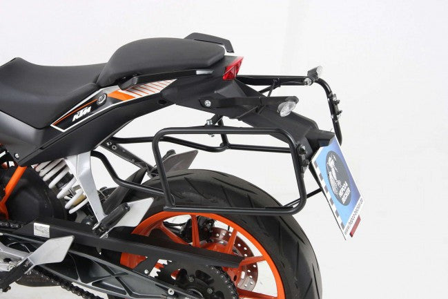 "KTM 200 Duke Sidecases Carrier - Quick Release ""Lock It"""