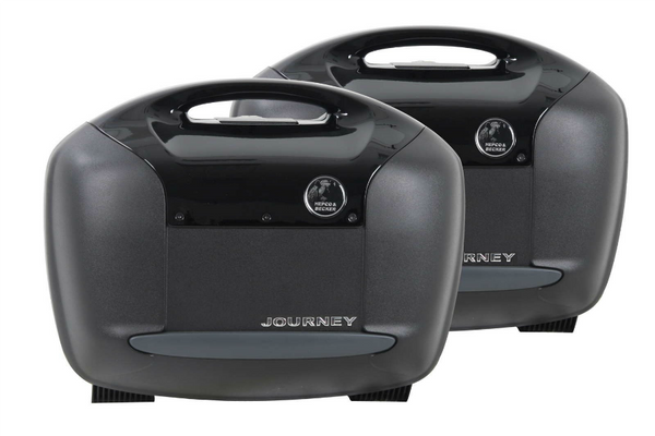 Sidecases 42 Journey Black - Pair - Motousher