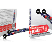 Triumph Tiger 800XC (12-14) Brakes - EBC Steel Braided Brake Lines