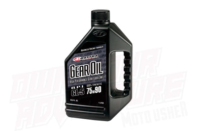 Transmission Oils :- Synthetic Gear Oil (Maxima Racing)