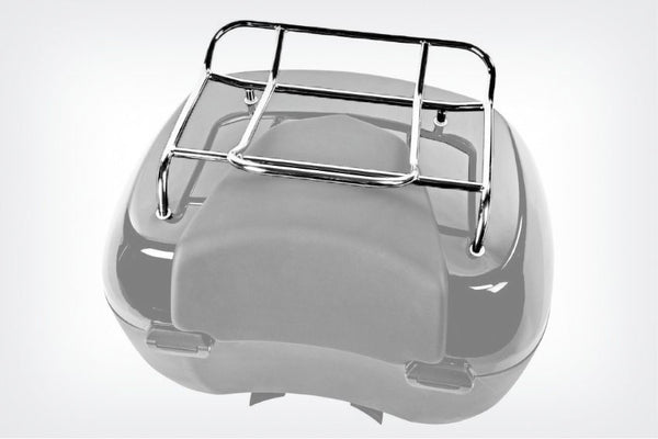 BMW K600 GT Ergonomics - Topcase luggage Rack.