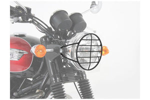 Triumph Bonneville Protection - Headlight Guard (Black) - Motousher
