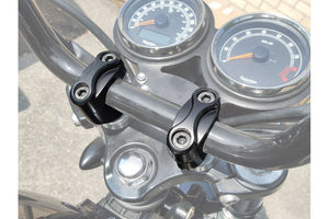 Triumph Bonneville Styling - Riser Top Clamps.