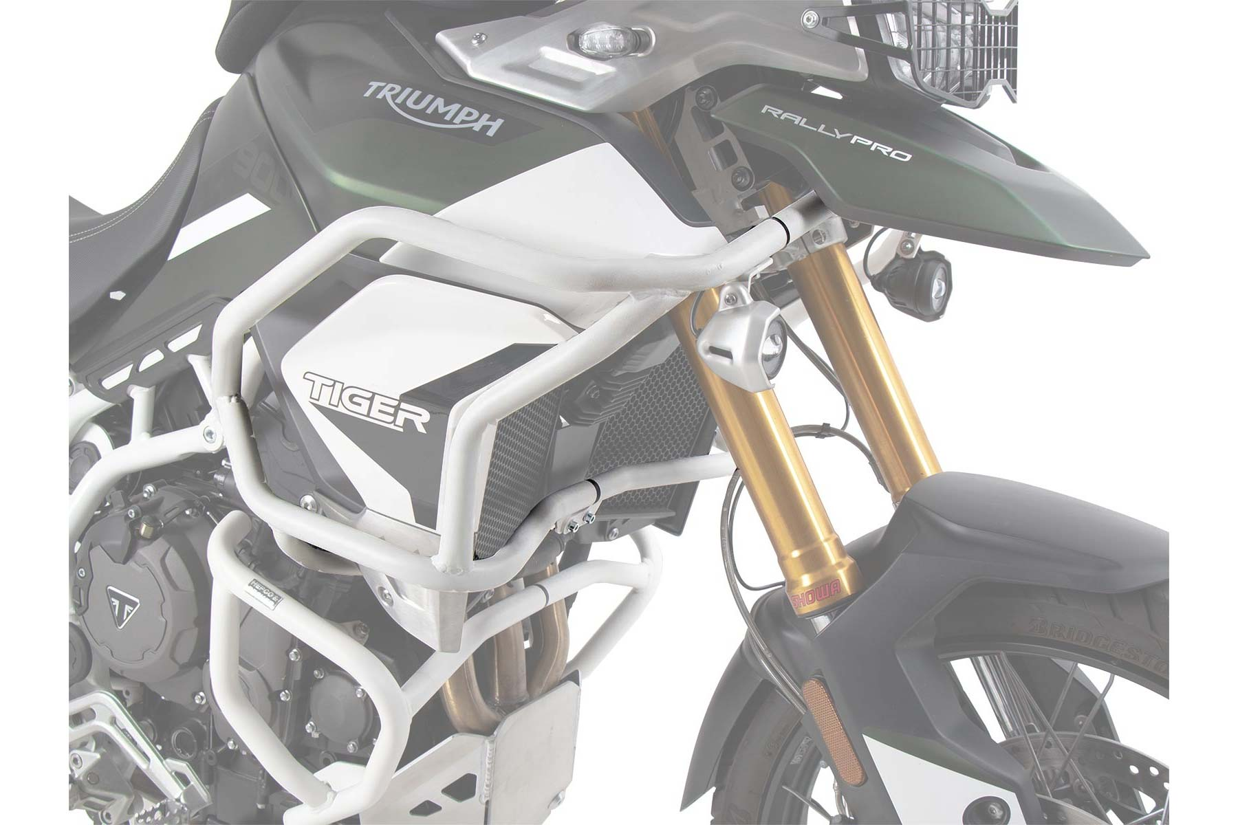 Triumph Tiger 850 & 900 Protection - Tank Guard SOLID (Steel)