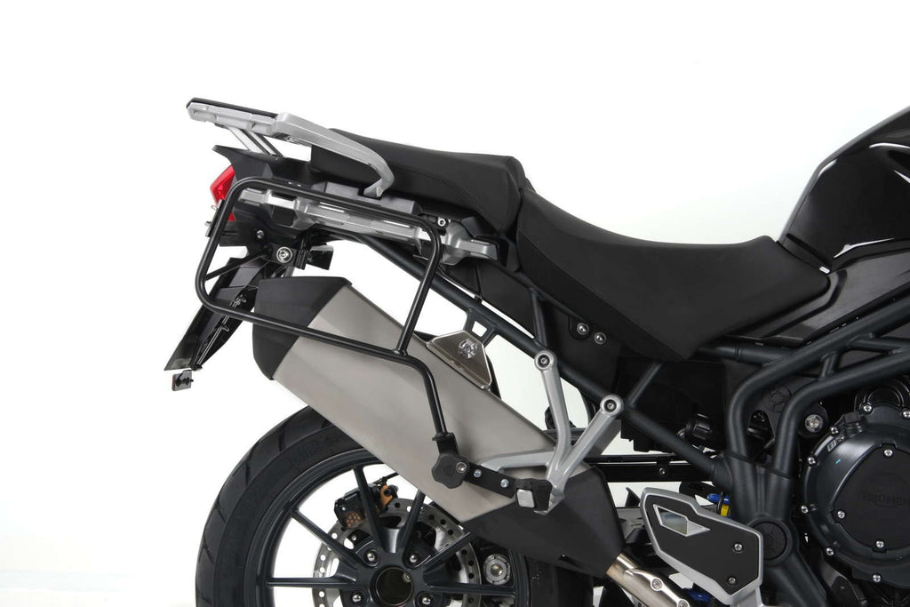 "Triumph Tiger Explorer 1200 Sidecases Carrier - Quick Release ""Lock It"""