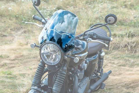 Triumph T120 Screen - Marlin Flyscreen