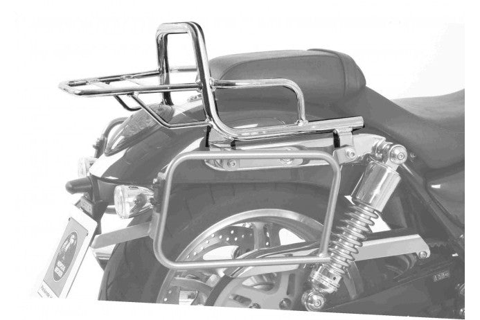 Triumph Thunderbird 1600 Topcase carrier - Tube Type - Chrome - Motousher