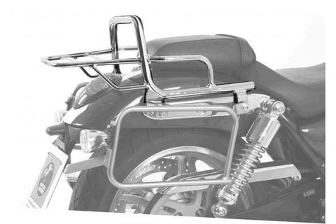 Triumph Thunderbird 1600 Topcase carrier - Tube Type - Chrome
