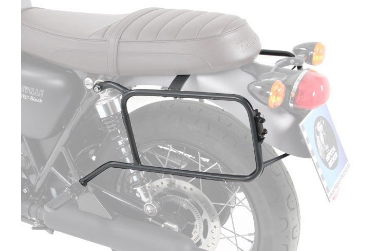 Triumph Bonneville T100 Sidecases Carrier - Permanently Fixed - Motousher
