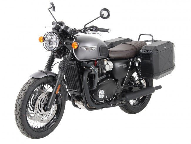 Triumph Bonneville T120 Sidecases Carrier Permanently Fixed