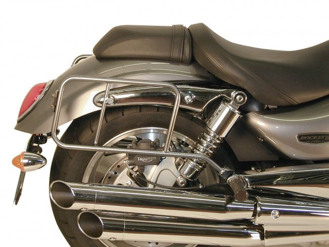 "Triumph Rocket III Sidecases Carrier - Quick Release ""Lock It"""