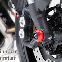 Triumph Bobber Protection - Axle Sliders - Motousher