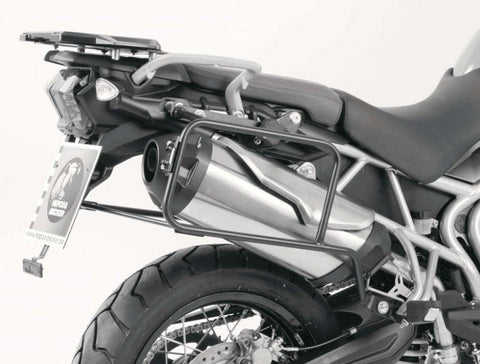 Triumph Tiger 800XC (12-14) Topcase Carrier - Fixed Hinge (Alu Rack)