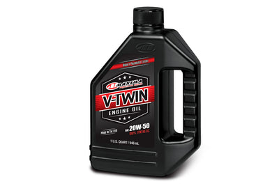 VTwin Oils :- 100% Synthetic (20W50)