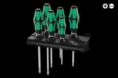 Screwdriver Set - Slotted + Phillip Screws (334/6)