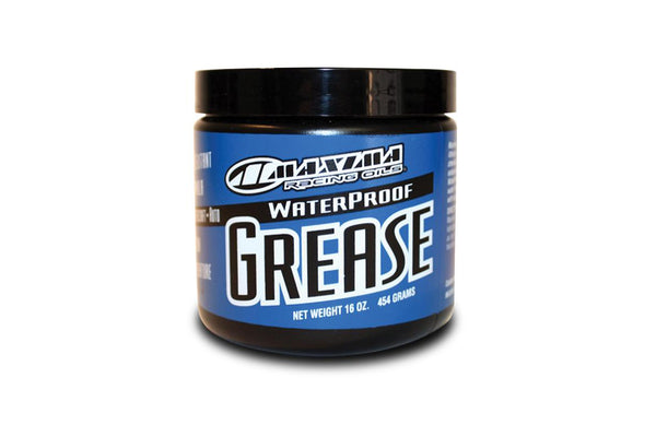 Maintenance :- Waterproof Grease (Maxima Racing).