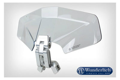 "Screen Wind Deflector - Universal 'Ergo 3D ""Plus""'"