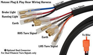 Wiring Loom Adapter - For Motone Kits