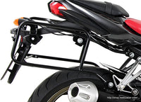 "Yamaha FZ1 Sidecases Carrier - Quick Release ""Lock It"" (2006-2015)."