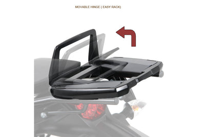 BMW F800GS Carrier Topcase - Movable Hinge (Easy Rack)