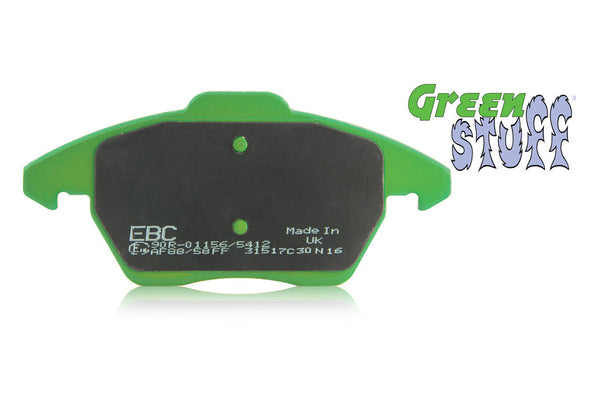Isuzu Dmax Brake Pads - 6000 Series 'Greenstuff'.