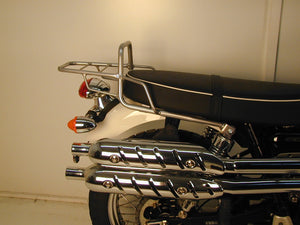 Triumph Thruxton Topcase carrier - Tube Type (Chrome)