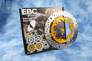 BMW S1000XR Brakes - Rotors OEM Replacement (EBC Brakes) - Motousher