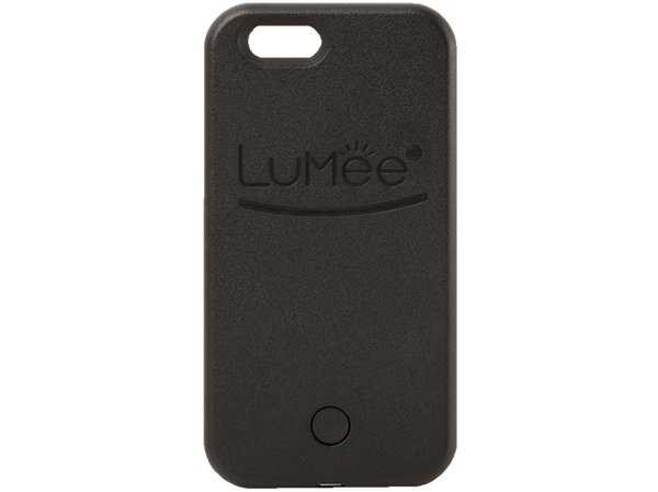 Black LuMee Light Up iPhone 6s phone case [Black]