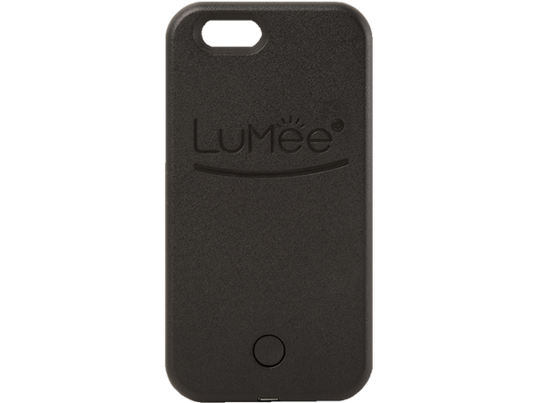 Black LuMee Light Up iPhone 5/5s/SE phone case [Black]