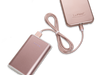 Rose LuMee Power Charger and LuMee Charging Cable [Rose]