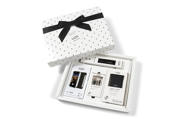 Black LuMee Duo Gift Box iPhone 7, 6s, 6 [Black]