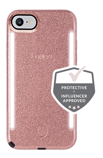 ea25cca707a LuMee Duo Glitter iPhone 8/7/6s/6 Case