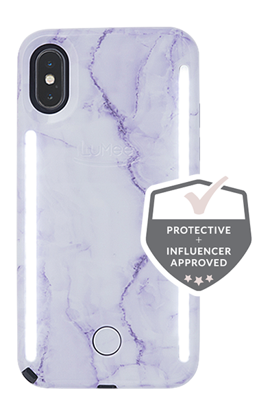 new product d7a8c f5afe LuMee Duo Marble iPhone X/XS Case