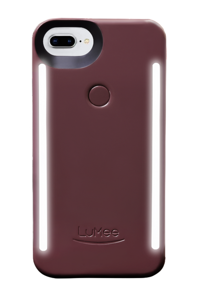 LuMee Duo iPhone Case [Perfect Plum]