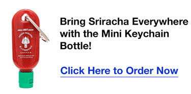 Pocket Sriracha - Mini Sriracha Keychain Bottle