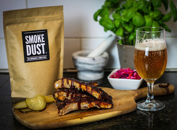"Smoke Dust - All Purpose Seasoning & BBQ Rub - ""For Succulent & Smoky Meat"" - Large Pack (225g)"