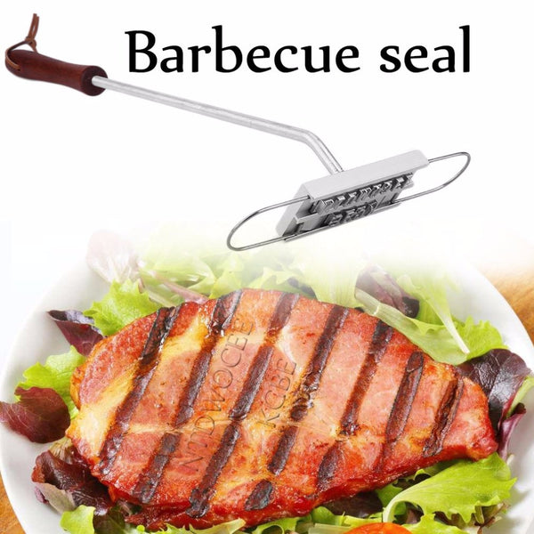 BBQ Brand - Stamp Letters into Meat!